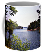 Looking Out Over The River Coffee Mug