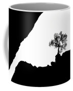 Looking Up Coffee Mug
