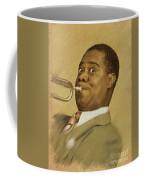 Louis Armstrong, Music Legend Coffee Mug