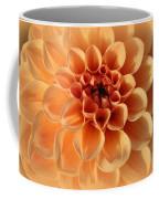 Lovely In Peaches And Cream - Dahlia Coffee Mug