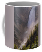Lower Yellowstone Falls Coffee Mug