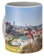 Lublin Old Town Panorama Poland Coffee Mug