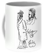 Ludwig Van Beethoven Coffee Mug by Granger