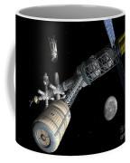 Lunar Cycler Centrifuge Coffee Mug