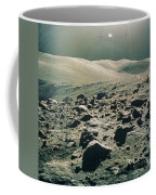 Lunar Rover At Rim Of Camelot Crater Coffee Mug