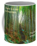 Lush Bamboo Forest Coffee Mug