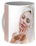Lutrevia Cream Coffee Mug