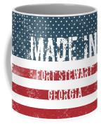 Made In Fort Stewart, Georgia Coffee Mug