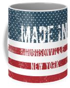 Made In Hughsonville, New York Coffee Mug