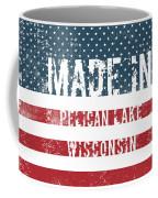 Made In Pelican Lake, Wisconsin Coffee Mug