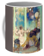 Mademoiselle Becat At The Cafe Des Ambassadeurs  Coffee Mug