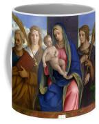 Madonna And Child With Saints Coffee Mug