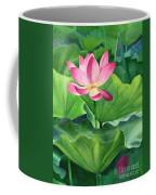 Magenta Lotus Blossom Coffee Mug