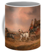Mail Coaches On The Road Coffee Mug