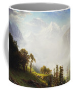Majesty Of The Mountains Coffee Mug by Albert Bierstadt