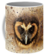 Malaysian Brown Wood Owl Coffee Mug