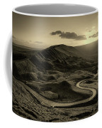 Mam Tor In Derbyshire Coffee Mug
