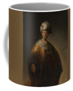 Man In Oriental Costume The Noble Slav Coffee Mug