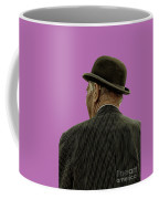 Man With A Bowler Hat Coffee Mug