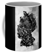 Map Of Germany-black Coffee Mug