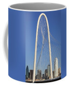 Margaret Hunt Hill Bridge In Dallas - Texas Coffee Mug