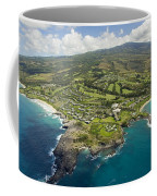 Maui Aerial Of Kapalua Coffee Mug