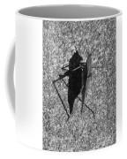 Me And My Shadow Black And White Coffee Mug