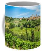 Medieval Town Of San Gimignano, Tuscany, Italy Coffee Mug