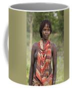 member of the Bena Tribe, Omo Valley Coffee Mug