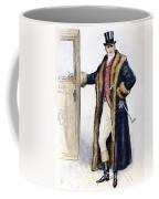 Mens Fashion, 1894 Coffee Mug