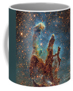 Messier 16, The Eagle Nebula In Serpens Coffee Mug