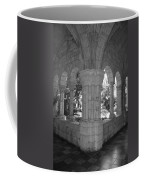 Miami Monastery In Black And White Coffee Mug