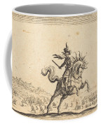 Military Commander On Horseback Coffee Mug