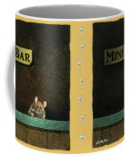 Mini Bar... Coffee Mug by Will Bullas