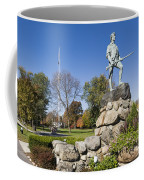 Minute Man Sculpture Coffee Mug