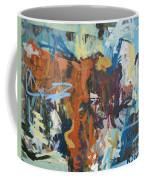 Mixed Media Cow Painting Coffee Mug