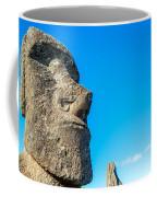 Moai Closeup Coffee Mug