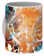 Modern Art Beyond Control Coffee Mug