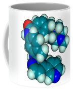 Molecular Model Of Imatinib Coffee Mug