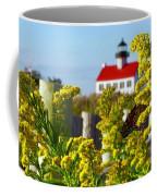 Monarch At East Point Light Coffee Mug