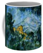 Mont Sainte-victoire And Chateau Noir Coffee Mug