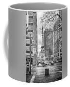 Monument Circle Coffee Mug by Howard Salmon