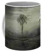 Moonlight On Mount Lafayette Coffee Mug