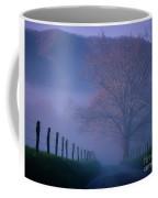 Morning Fog, #1, Smoky Mountains, Tennessee Coffee Mug