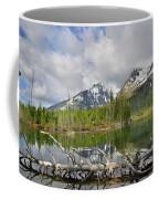 Morning Reflection On String Lake Coffee Mug