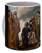 Moses And The Messengers From Canaan Coffee Mug