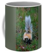 Mostly White Skunk Coffee Mug