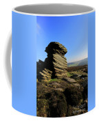 Mother Cap Gritstone Rock Formation, Millstone Edge Coffee Mug
