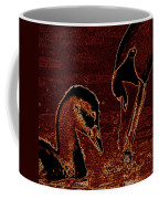 Mother Swan And Cygnet Coffee Mug