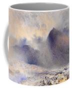 Mount Snowdon Through Clearing Clouds Coffee Mug